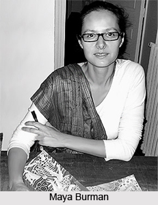 Maya Burman , Indian Painter