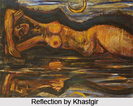 Sudhir Khastgir, Indian Painter