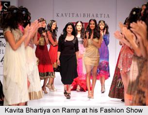 Kavita Bhartiya, Indian Fashion Designer