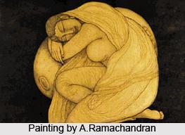 A.Ramachandran, Indian Painter
