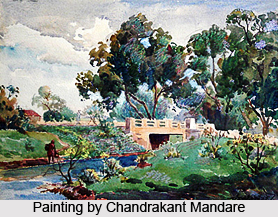 Chandrakant Mandare, Indian Painter