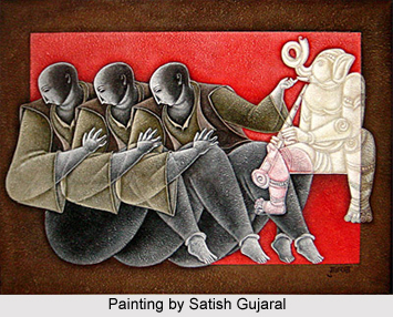 Satish Gujral Indian Painter
