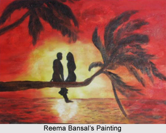 Reema Bansal , Indian Painter
