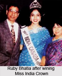 Ruby Bhatia, Indian Model