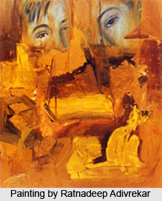 Ratnadeep Adivrekar , Indian Painter