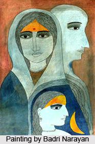 Badri Narayan, Indian Painter