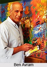 Ben Avram , Indian Painter