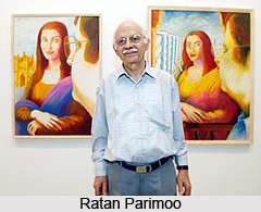 Ratan Parimoo, Indian Painter