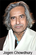 Jogen Chowdhury, Indian artist
