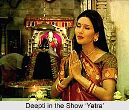 Deepti Bhatnagar, Indian actress