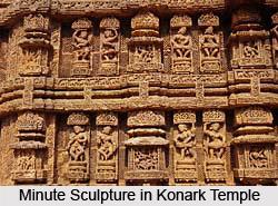 Sculpture of Konark Temple , Orissa