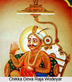 Chikka Deva Raja Wodeyar, the ruler of Mysore