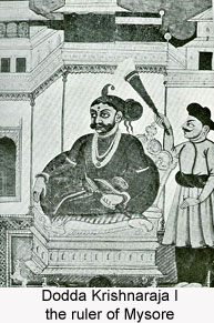 Dodda Krishnaraja I, the ruler of Mysore