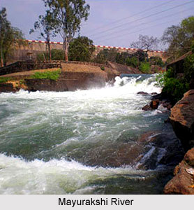Mayurakshi River in India
