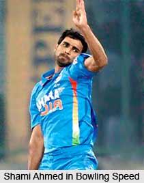 Shami Ahmed, Indian Cricketer