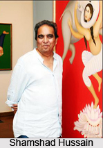 Shamshad Hussain, Indian Painter
