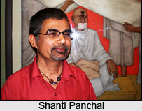Shanti Panchal, Indian Painter