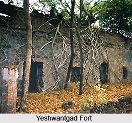 Yeshwantgad Fort, Monuments of Maharashtra