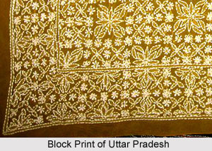 Block Print of Northern India