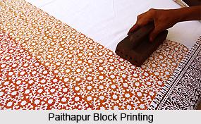Block Print of Western India
