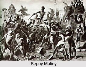 Disintegration of Indian Kingdoms, Sepoy Mutiny, 1857