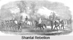 Indian Freedom Struggle in during the rule of British East India Company