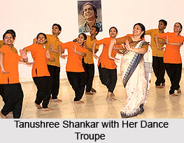 Tanushree Shankar, Indian Dancer
