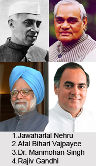 Male Prime Ministers of India