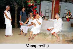 Vanaprastha , Vedic  Ashram System