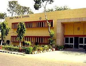 Army public school in Tamil Nadu