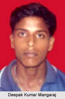 Deepak Kumar Mangaraj, Orissa Cricketer