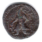 copper coins of Vima Kadphises
