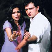 TV Serial : Darna Mana Hai - Rajesh Tandon and Rajeshwari in  the first story of Darna Mana Hai