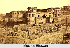 Lucknow Unrest,  Indian Sepoy Mutiny , 1857
