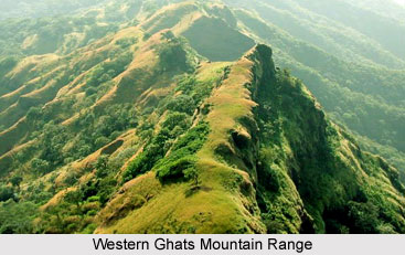 Western Ghats Mountain Range in India