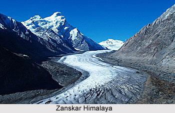 Zanskar Himalaya, Indian Himalayan Regions