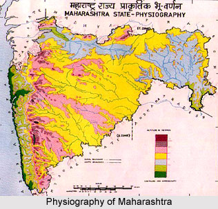 Physiographic Division of the Western India