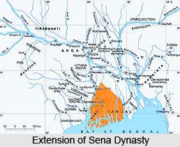 Downfall of Sena Empire in Bengal , India