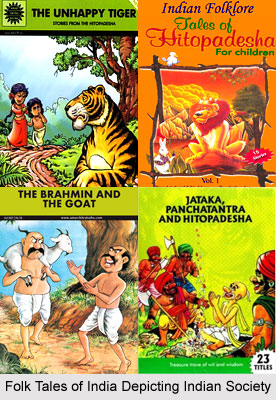 Indian Society in Folk Tales of India