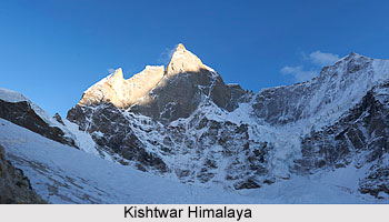 Kishtwar Himalaya, Indian Himalayan Regions