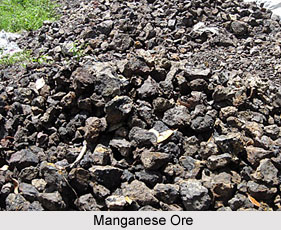 Manganese ore in India, Indian Mineral Resources