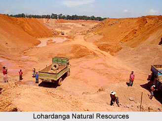 Natural resources of Lohardanga District