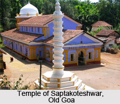 Saptakoteshwar Temple, Old Goa
