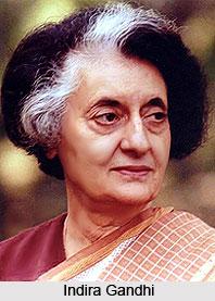 Indira Gandhi, Indian Prime Minister