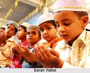 Barah Wafat , Indian Muslim Festival
