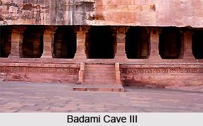 Cave 3, Badami Cave Temples