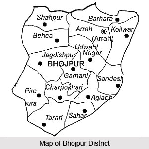 Geography of Bhojpur District