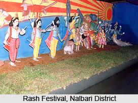 Rash Festival in Nalbari District