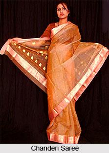 Chanderi Sarees, Sarees of West India