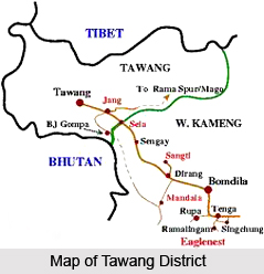 Geography of Tawang District